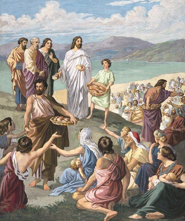 De mange ble velsignet ved de få