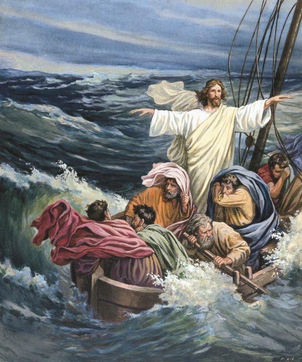 Stormen kommer, også om Jesus er med