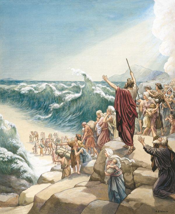 Da Gud åpnet vei gjennom havet