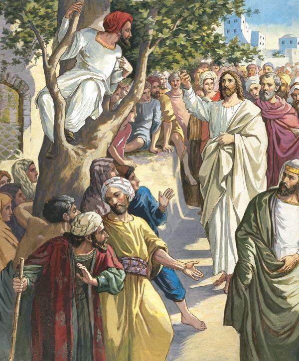 Sakkeus ble møtt av Jesu omsorg