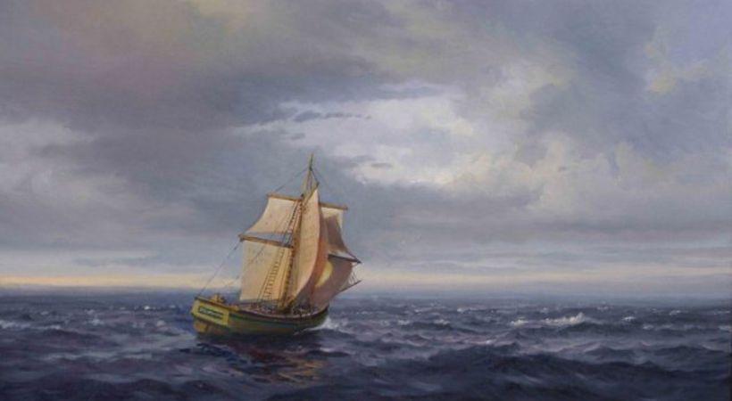 Maleri av Odd Dubland