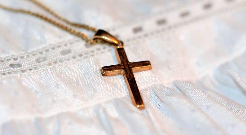 Kors på halsen