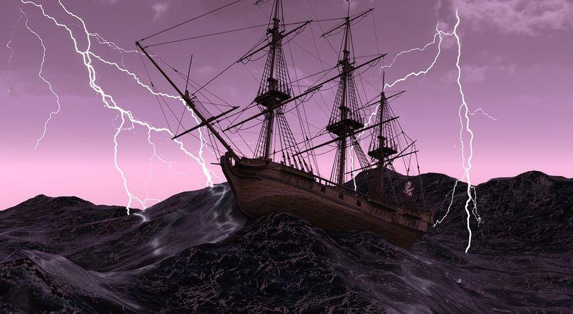 Livet kan være som en båt i storm