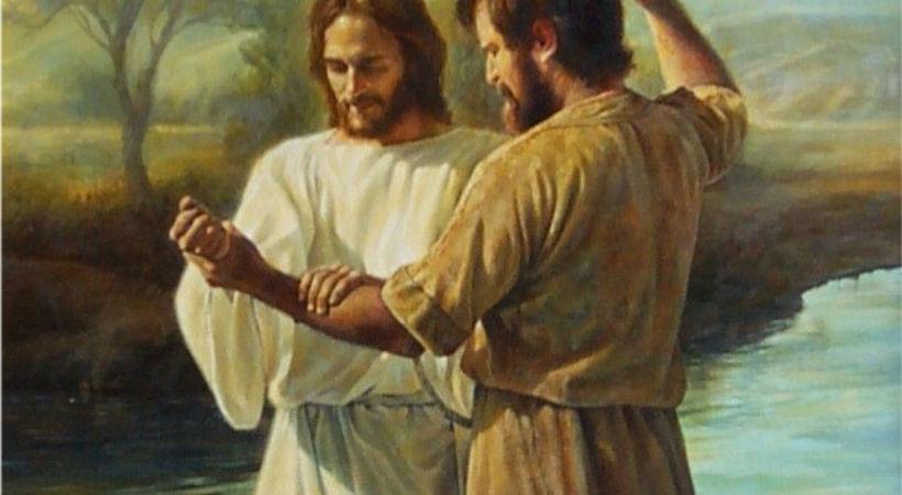 Jesus døpes for oss (Markus 1,3-11)