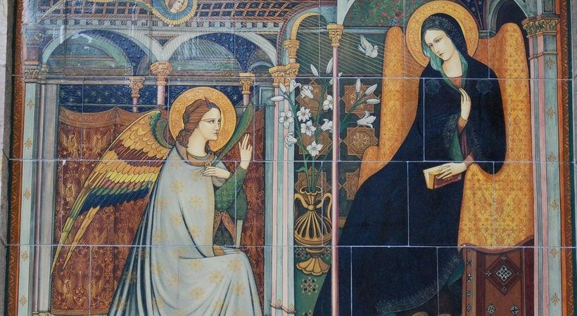 Et formiddagsbesøk som forandret verdenshistorien (Lukas 1,26-38)